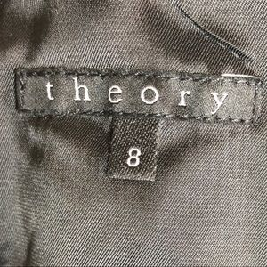 Theory Dresses - Theory Black Velvet Square Neck Sheath Dress